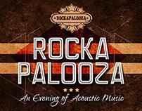 Rockapalooza Event Poster