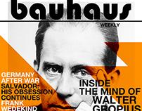 Bauhaus Newspaper Article Project