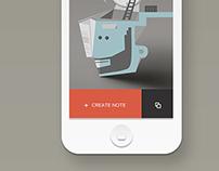 IOS App interface design for online magazine