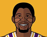 Magic Johnson - Los Angeles Lakers