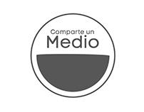 """Animación de logo """"Comparte un medio"""""""