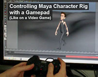 Controlling Maya Character Rig with a Gamepad