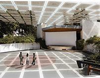 Cubierta de Auditorio al aire libre