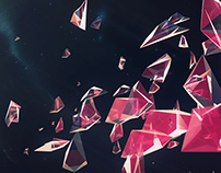Shattered space