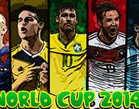 World Cup 2014: Stars