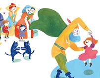 La cocinera del rey (children's book)