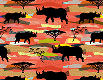 pattern_Rhinoceroses