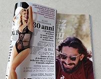 Campagna pubblicitaria Le Coq Sportif su riviste