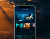 Mobile User Interface Design: Slumber App