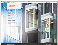 Web design and development for HESTEK Elevator Company