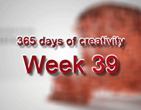 365 days of creativity/art - Week 39
