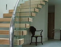 Madden Bespoke Floating Staircase
