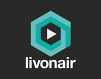 Livonair - New social network concept - Logo