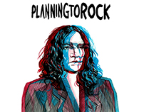 Planningtorock Editorial Illustration