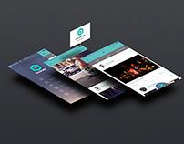 Livonair - New social network concept - mobile version