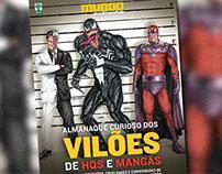 Ilustrações da Revista Mundo Estranho: Especial Vilões