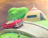 Planeta Kaio - LowPoly 3D Max