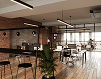 interior visual for a project in London