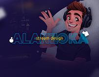 Stream Design - Alanzoka