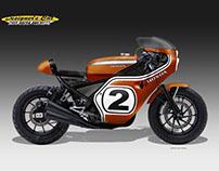 HONDA CMX 500 RACER LEGEND