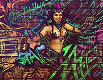 SuspectLive graffiti