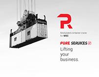 Pure Services project promotie