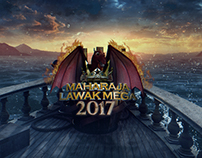 Maharaja Lawak Mega 2017 On Air Graphics Packaging