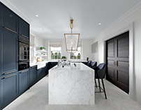 CGI for a kitchen, London