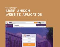 Concept UI - Amikom University Archive