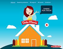 Micrositio - Doña María - Supermercados Santa María