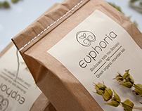 Euphoria mountain tea Branding