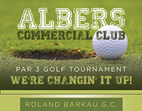 Albers Commercial Club Flyer