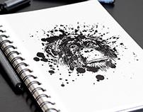 Sketchbook Artwork Mockup