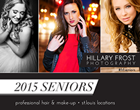 Hillary Frost Photography Senior Banner