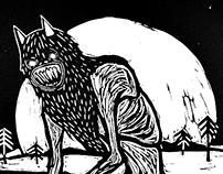 The Wendigo (woodcut)