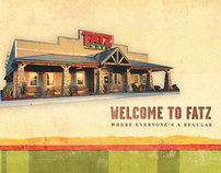 Fatz Cafe Menu Redesign
