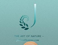 Judges Designs on Vine Website & Logo
