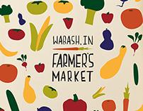 Logo & Branding: Wabash Farmer's Market