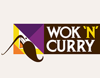Wok 'n' Curry - Internal Branding
