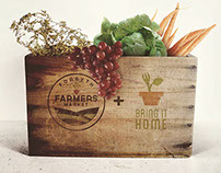Forsyth Farmers' Market + The Bring it Home Initiative