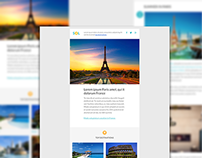 Sol - Travel Email + Builder / Editor Access