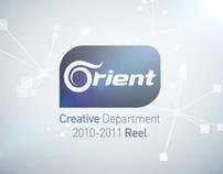 Orient's Creative Dept. Reel 2010/2011