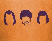 Quentin Tarantino Movie Poster Series