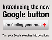 """THE NEW GOOGLE BUTTON"" for MEXICAN RED CROSS"