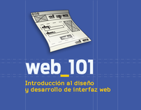 web_101 logo & website