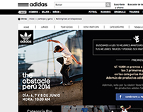 Adidas - The obstacle Perú 2014