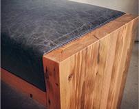 Reclaimed Fir Bench