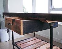 Reclaimed Fir Island Table