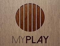 """Brand Identity """"Myplay"""""""