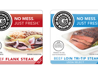 Grantwood Meats Product branding
